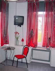 苏尔埃施酒店的电视和/或娱乐中心