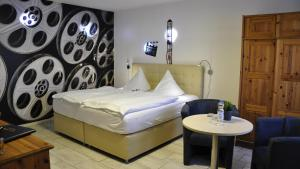 Hotel Zierow - Urlaub an der Ostsee客房内的一张或多张床位