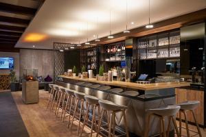 Hyperion Hotel Garmisch – Partenkirchen酒廊或酒吧区