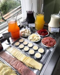 拉尔住宿酒店提供给客人的早餐选择