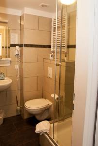 列维酒店的一间浴室