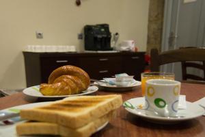瑙提考酒店提供给客人的早餐选择