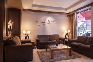 阿波丽娜尔酒店的休息区