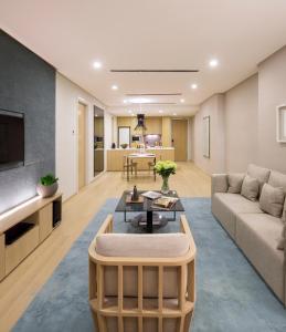 吉隆坡辉盛庭国际公寓的休息区