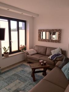 Haus Verando – Apartment Meeresrauschen的休息区