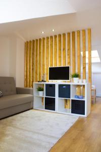 法多路径公寓的电视和/或娱乐中心