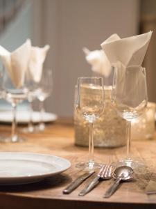 拉法亚莫勒胡斯里度假屋餐厅或其他用餐的地方