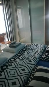 Jurata Apartment客房内的一张或多张床位