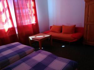 多明帕塔霍旅馆的休息区