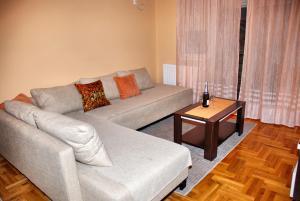 Apartment Milković的休息区