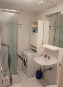 1,5 Zimmer-Apartment的一间浴室