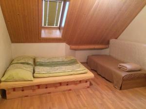 Chata Miška客房内的一张或多张床位