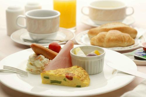 蒙塔涅松本酒店 提供给客人的早餐选择
