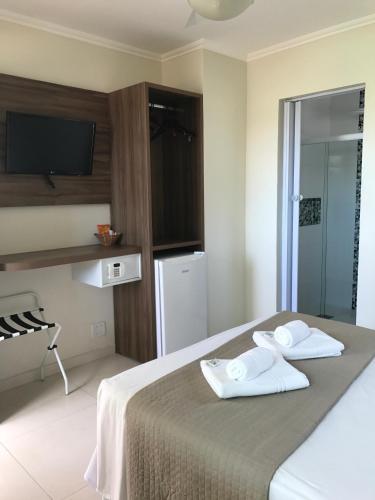 玛丽亚旅馆客房内的一张或多张床位