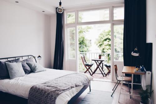 冯德尔公园公寓 客房内的一张或多张床位
