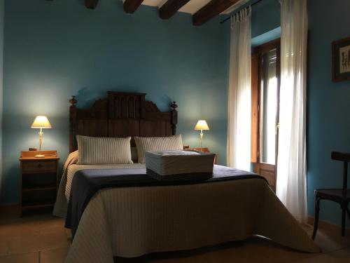 Mas Cabre客房内的一张或多张床位