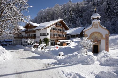 冬天的Berghotel Hammersbach