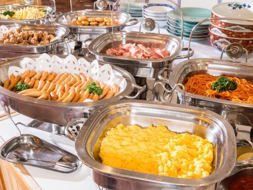 日式旅馆内部或周边提供的食物