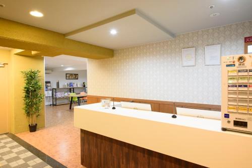 京都乌丸尾池瑞杰斯酒店大厅或接待区