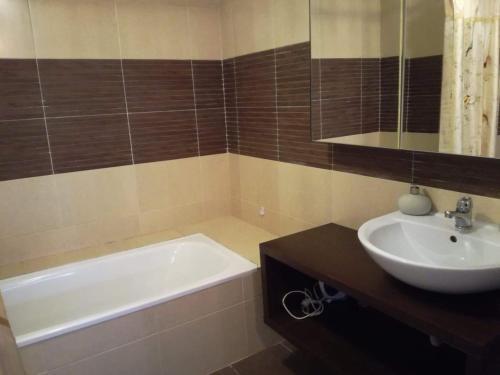 Apartament lux Viva City的一间浴室