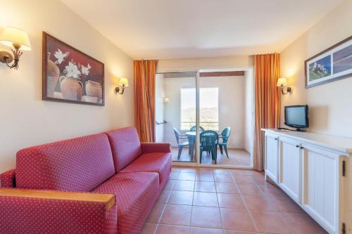 普罗旺斯皇家桥皮埃尔度假酒店的休息区