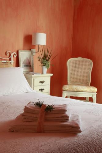 Albergo Ristorante Egadi客房内的一张或多张床位