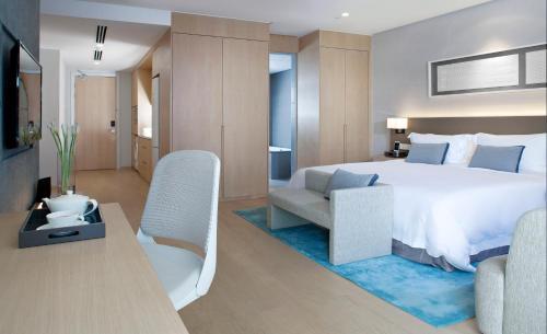 吉隆坡辉盛庭国际公寓客房内的一张或多张床位