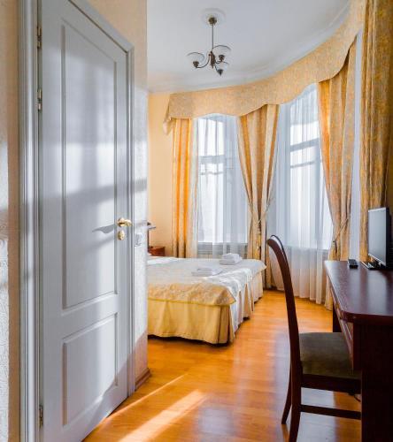 Baskov客房内的一张或多张床位