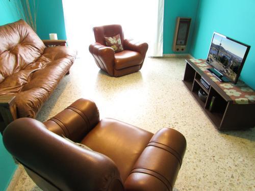 卡萨布埃纳文图拉坦迪尔公寓的休息区