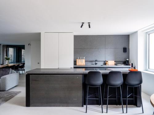 Maison N的厨房或小厨房