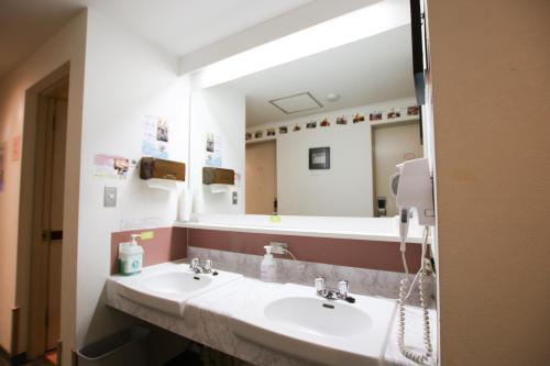 神保町樱花酒店的一间浴室
