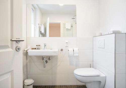 Schloss Buchenau的一间浴室