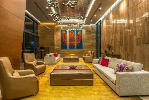 吉隆坡雅诗阁中心酒店的休息区