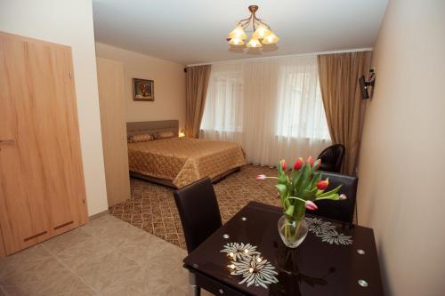 维塔公寓客房内的一张或多张床位