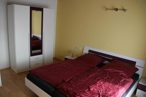 Ferienwohnung Neuber客房内的一张或多张床位