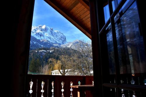 山景或在公寓看到的山景