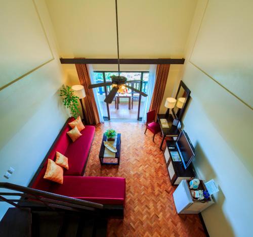 长滩岛阿兰达度假酒店大厅或接待区