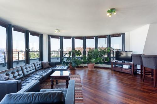 GreatStay Apartment - Danzigerstr.酒廊或酒吧区