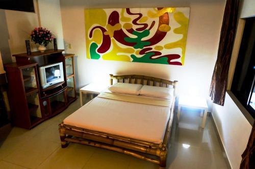 奥地利日落公寓客房内的一张或多张床位