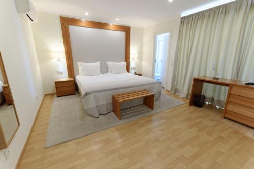 拉戈阿度假屋客房内的一张或多张床位