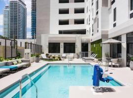 佛罗里达州迈阿密市中心汉普顿酒店&套房
