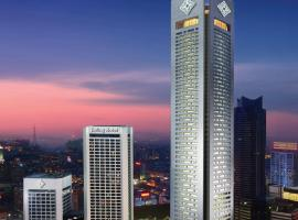 金陵饭店,位于南京的酒店