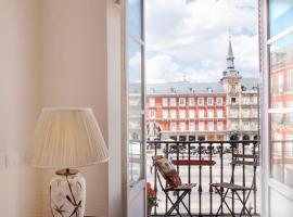 马约尔广场迷人景致住宿加早餐旅馆,位于马德里的公寓