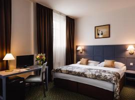 布拉格中央酒店,位于布拉格的酒店