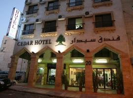 雪松酒店,位于亚喀巴皇家游艇俱乐部附近的酒店