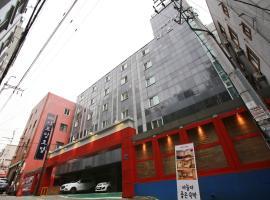 水原莎曼酒店,位于水原市Paik Nam June Art Center附近的酒店
