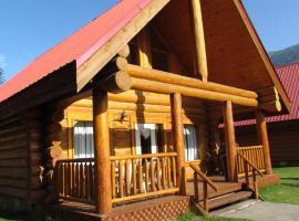 山顶小木屋