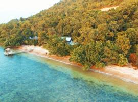 布桑加阿拉姆英达海滩别墅, 布桑加