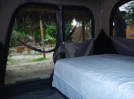 卡巴珑加生态探险帐篷营地