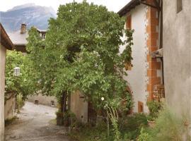 One-Bedroom Apartment in Visp